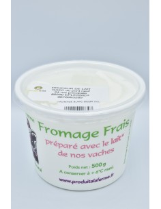 Fromage Blanc lisse 500g...