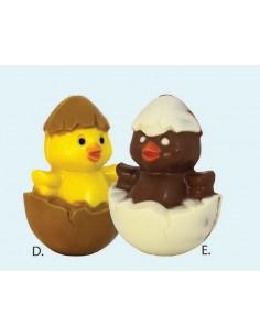 Poussin chocolat blanc de...