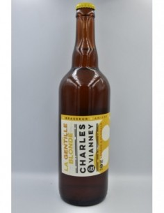 Bière La Gentille Blonde...