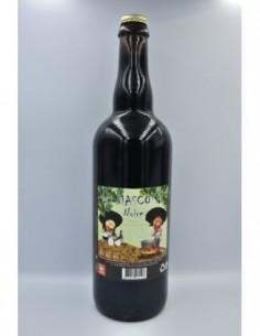 """Bière Noire 75cl """"La Mascotte"""""""