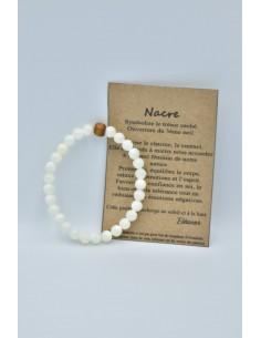 Bracelet de pierres Nacre...