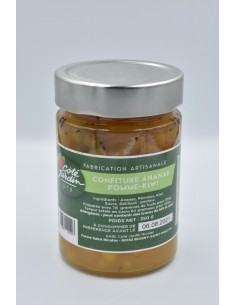 Confiture Ananas-pomme-kiwi...