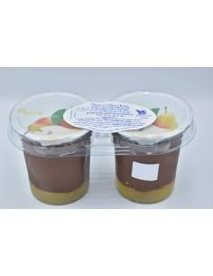 Dessert choco-poire 2x125g...